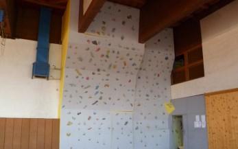 Lezecká stena vysoká